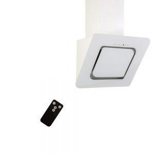 Hota decorativa alba cu telecomanda silentioasa si puternica Kugerr D8
