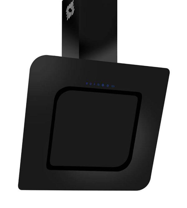 Hota neagra decorativa cu telecomanda silentioasa Kugerr D8 - 90 cm