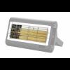 Incalzire Terasa Lampa incalzire infrarosu lungime scurta unda cu halogen SORENTO UK 2000 W – Argintie – IP55