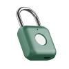 Lacatel Inteligent Incuietoare deblocare cu senzor cititor de Amprenta digitala AMA P8 Smart verde, cu Reincarcare USB, 20 Utilizatori